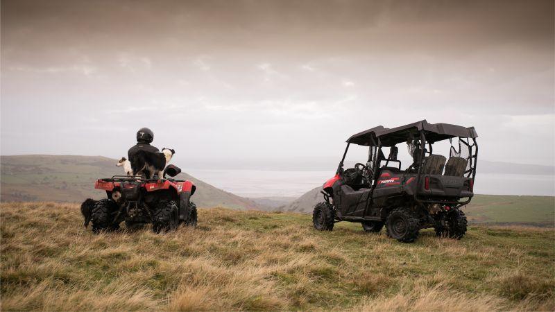 Pioneer UTV vs The Welsh Mountains   Honda Engine Room